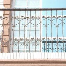 私人订制铁艺阳台栏杆热镀锌防锈处理出口图片也有人�c了下�^