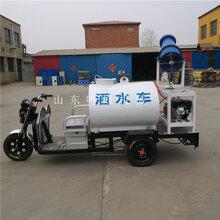 城中村改造施工电动洒水车新能源除尘洒水喷雾车