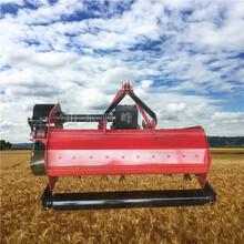 30马力拖拉机打草机1米宽玉米秸秆粉碎机视频图片