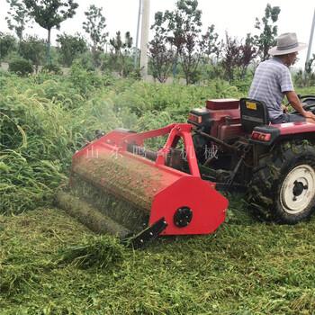 拖拉机配套玉米秸秆还田机130型杂草秸秆切碎机视频