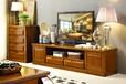 直销简约中式实木电视柜客厅电视柜小户型胡桃木客厅地柜
