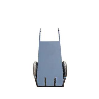 电动平板拉加气砖红砖木材车工程运输车手推车图片4