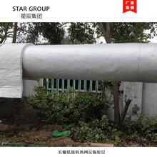 优游输热网管道专用耐高温反射层铝箔防火布图片