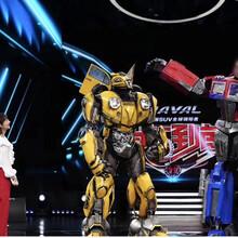大型变形金刚模型厂家真人可穿戴机器人铠甲道具服装价格图片