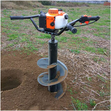 植树机大功率52CC挖坑机四冲程汽油挖坑机现货速度快图片