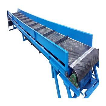 专业定制皮带输送机批发价一米皮带机型号工业用大倾角输送机