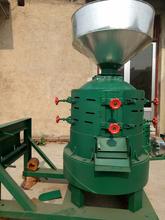 泰州電動多功能脫皮碾米機加工定做碾米機大功率圖片