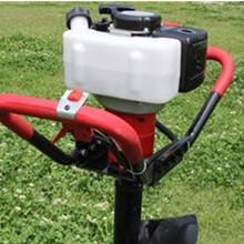 5.5馬力挖坑機葡萄施肥立柱機多少錢一臺圖片
