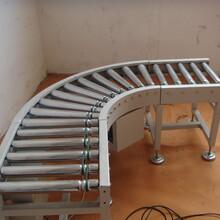包膠滾筒線無動力鍍鋅滾筒線圣興電子生產的滾筒輸送設備圖片