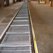 榆林金屬網帶輸送機多用途食品專用輸送機圖片