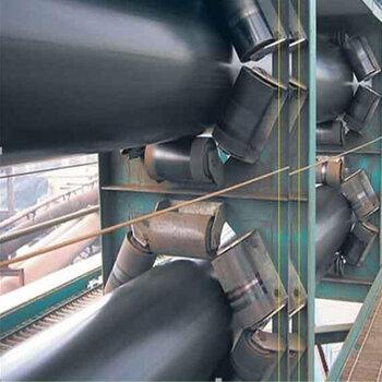 自動輸送圓管上料機管帶皮帶機型號大全裝卸機