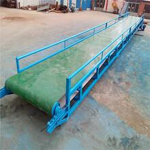 糧食裝車防滑輸送機濟寧大型皮帶輸送機出廠價圖片