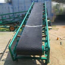 水稻谷物自動裝車輸送機12米長v型槽帶式輸送機圖片