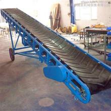 大型皮帶輸送機生產廠家四川成都袋裝稻谷輸送機圖片