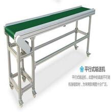 鋁型材輸送機鋁型材框架輸送帶圣興電子食品包裝輸送機圖片