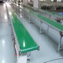 車間用輸送機鋁型材輸送機鋁合金皮帶機六九重工全封閉車間圖片