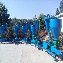 水泥粉双驱车载吸粮机移动式管道气力吸粮机