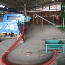 車載抽糧機全自動吸糧機六九重工雙管彈簧式抽料機圖片