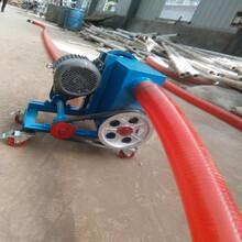 車載電動型吸糧機防塵水泥粉輸送機圖片