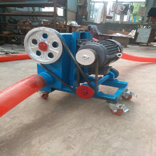 顆粒物料車載吸糧機防塵軟管吸糧機