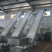 升降擋邊輸送機袋裝物料液壓升降式輸送機圖片