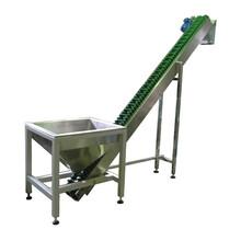 大傾角波紋擋邊輸送帶耐高溫耐磨小麥輸送機圖片
