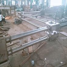 管鏈粉體輸送機運行平穩礦粉輸送機圖片