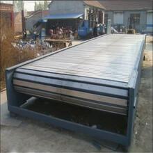 木箱輸送機升降式鏈板輸送機調試專業廠家圣興電子鏈板輸送圖片