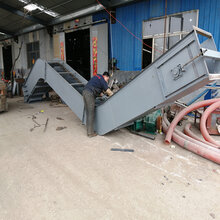 沙子石粉刮板输送机可弯曲双链式刮板输送机Lj6