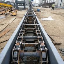 化工原料耐腐蚀不锈钢刮板输送机长距离刮板机Lj6
