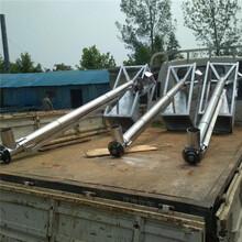 無軸雙螺旋輸送機螺桿式提升機Ljxy新型螺旋提升機圖片