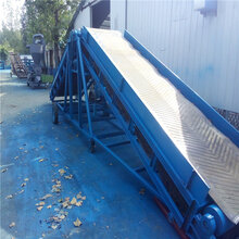 600宽爬坡防滑式输送机散包粮装车输送机图片