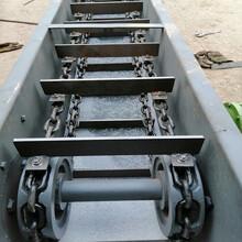 水泥粉刮板304材质刮板运输机圣兴电子刮板机链条输送机图片