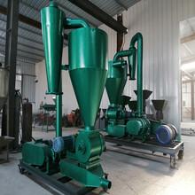 卸料吸粮机高扬程风送式抽料设备圣兴电子环保气力吸粮机报图片