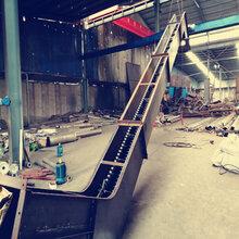 定制單板鏈刮板輸送機雙板鏈埋刮板輸送機圖片