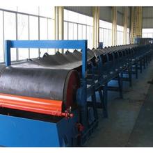 花纹式皮带运输机带防尘罩带式污泥输送机图片