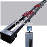 微机控制电液伺服卧式拉力试验机100吨液压卧式机