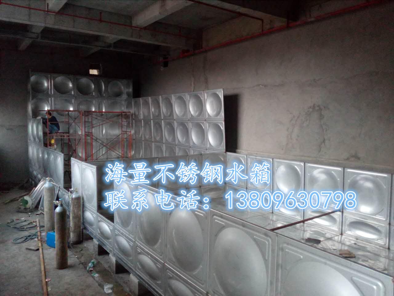 清远不锈钢组合水箱厂家生产组合水箱