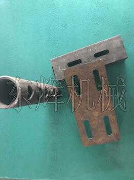 厂家直销45度角切铁铁艺冲孔方管破角机碳钢管破口方管打方孔器