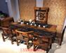 船木茶台老船木家具古船木茶桌客厅阳台泡茶台桌椅组合实木茶桌