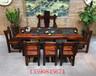 简约-1.8米-2.4米1.2米老船木茶桌实木茶几家具茶水厅功夫茶茶桌