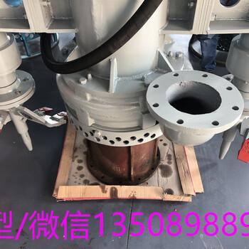 锦州大型挖机尾桨泵沟渠专用水路两用排污泵泵体样貌