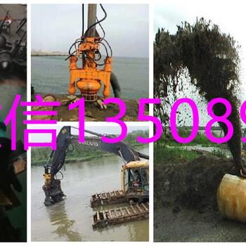 挖掘机耐磨抽沙泵