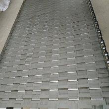 不锈钢冲孔链板烘干机冲孔链板节距38.1输送链板