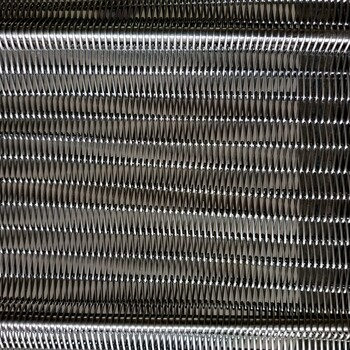 耐高温食品不锈钢网带网链洗碗机网带耐高温金属网带乙型网带
