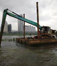 水陆挖掘机出租、大中小挖掘机出租