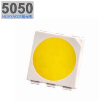 深圳LED封装厂专业供应5050贴片灯珠0.2W三晶高亮