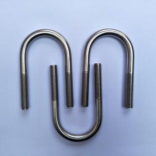 厂家供应不锈钢U型螺栓镀锌u型管卡任意大小均可定做图片3