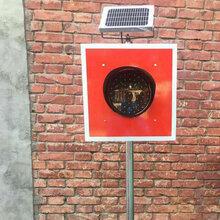 太阳能土挡灯铁路轨道警示灯太阳能信号灯土挡器