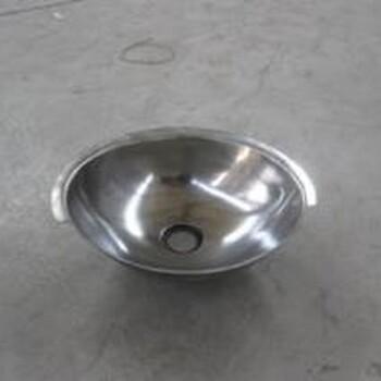 不锈钢圆弧形洗手盆